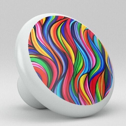 colorful kitchen cabinet knobs retro colorful abstract ceramic knobs pulls kitchen drawer 13705