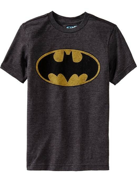 Nwt old navy dc comics superhero batman tees t shirt Boys superhero t shirts