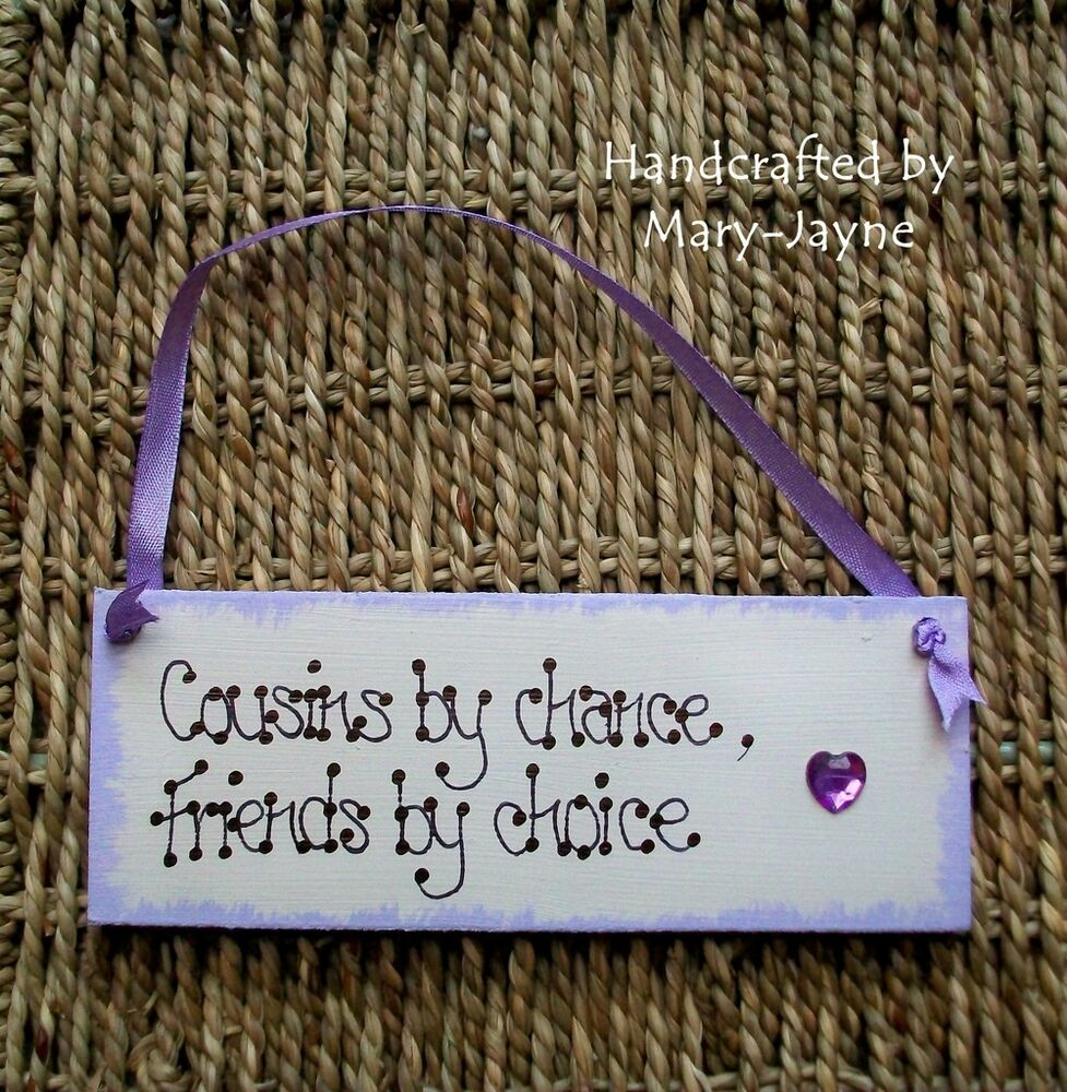 Quotes About Choices And Fate Cousins Friends by Choice