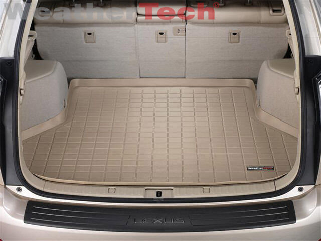 weathertech cargo liner trunk mat lexus rx 330 2004 2006 tan ebay. Black Bedroom Furniture Sets. Home Design Ideas