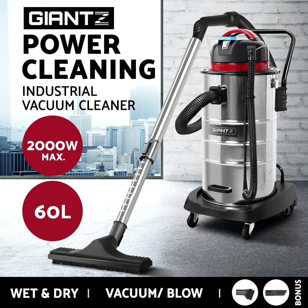 Giantz 60l Wet Amp Dry Vacuum Cleaner And Blower Industrial