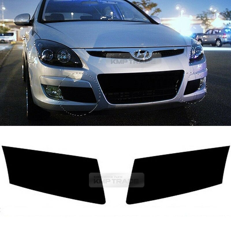 Front Fog Lamp Hall Cover Decal Stickers For Hyundai 08 12 Elantra Touring I30 Ebay