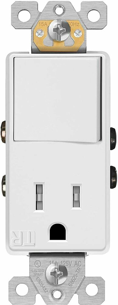 Wiring A Light Switch Outlet Combo