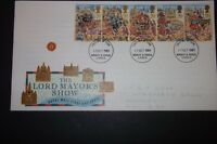 THE LORD MAYOR'S SHOW ROYAL MAIL FIRST DAY COVER 1989