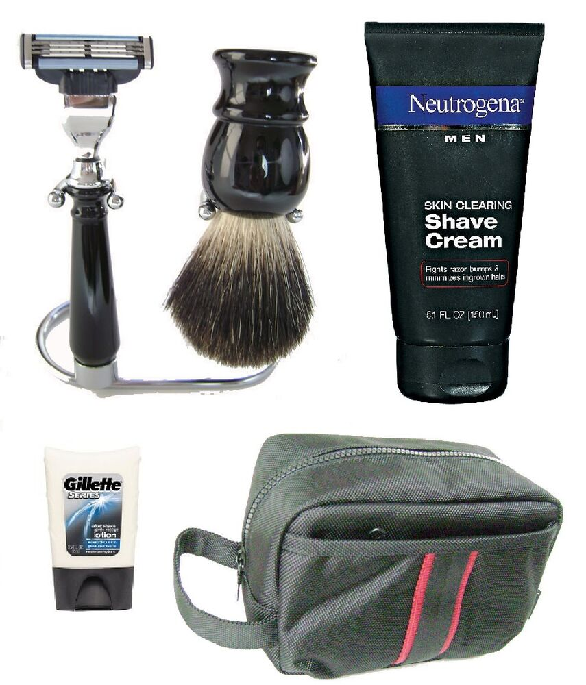 badger hair brush shaving cream after shave lotion razor. Black Bedroom Furniture Sets. Home Design Ideas