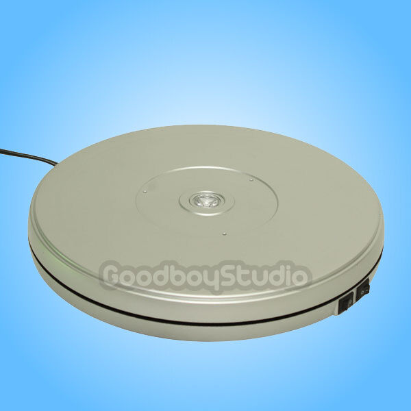 Heavy duty 10kg rotating display stand turntable 220v for Motorized turntable heavy duty
