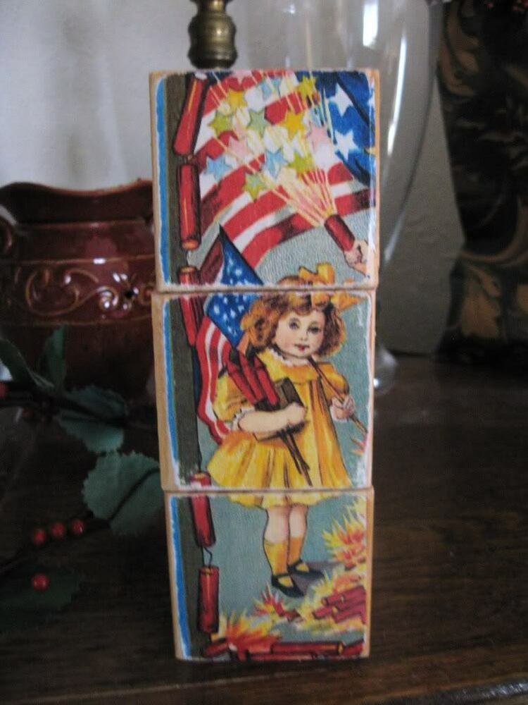 4th Of July Wooden Crafts