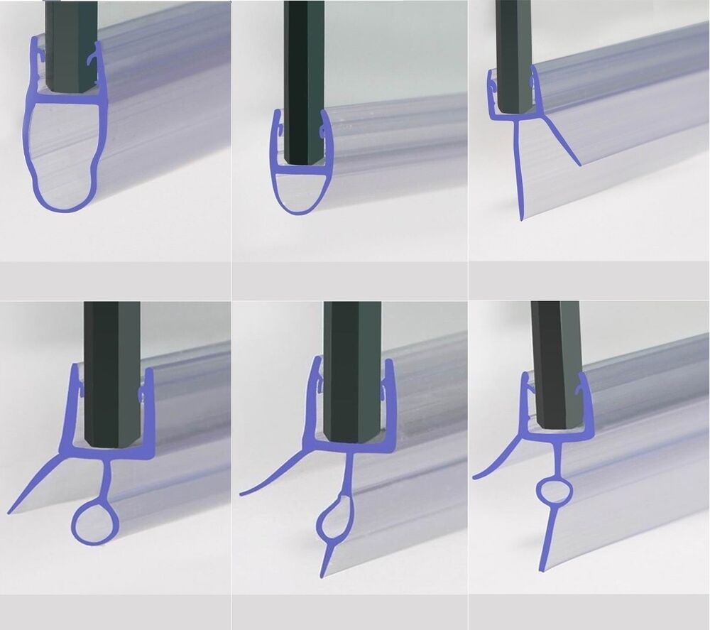 curved bath shower screen rubber plastic seal for 4 6mm rubber plastic bath shower screen seal strip for 4 6mm
