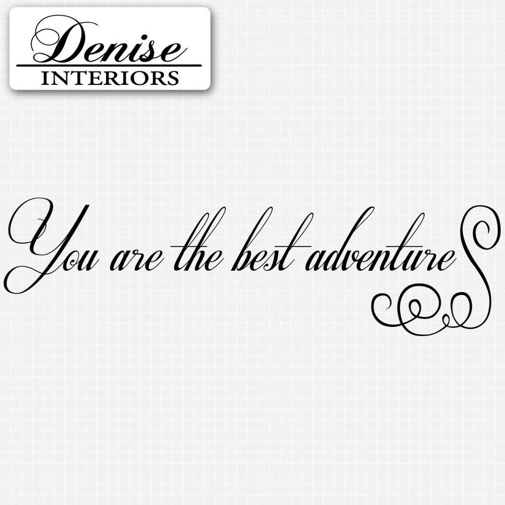 Details about you are the best wall quotes inspirational wall sticker vinyl stickers