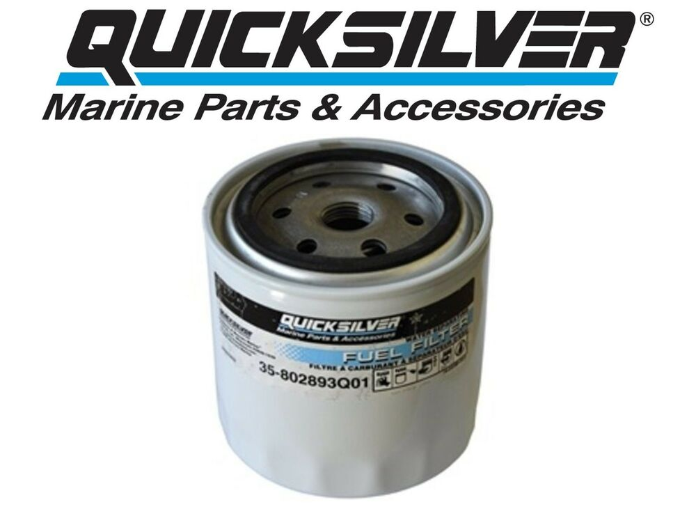 quicksilver mercury  mariner outboard water separating fuel