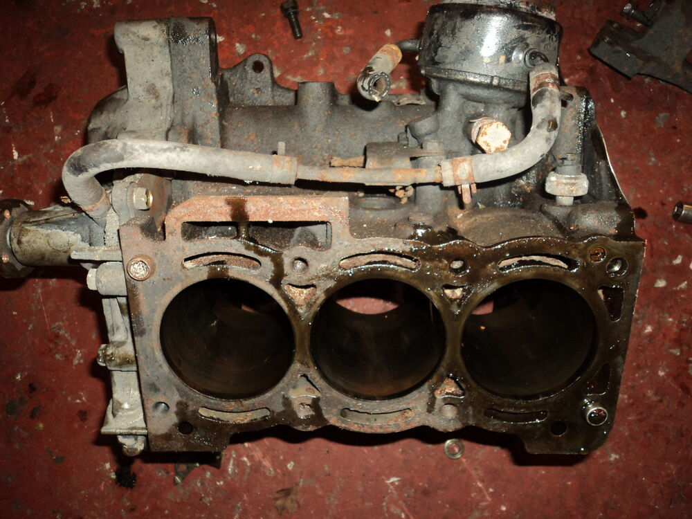 daihatsu charade cb cb gtti gt ti engine block bottom  ebay