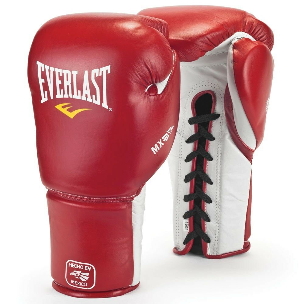 Shiv Naresh Teens Boxing Gloves 12oz: Everlast Boxing Gloves Mexican Grant Style New MX Pro 14