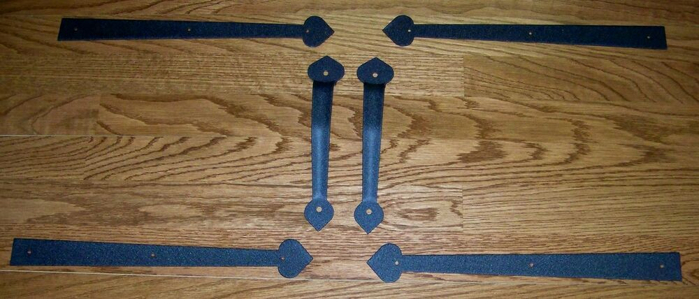Garage Door Decorative Hardware Quot Aspen Set Quot Powder Coated