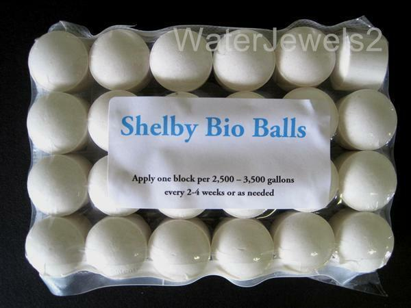 shelby bio balls beneficial pond bacteria eliminates