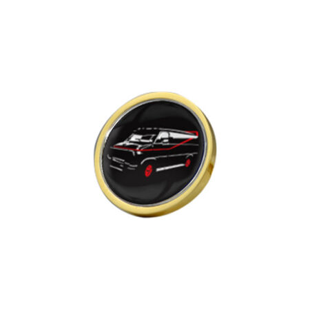 img-The A Team Van Gold Plated 28mm Pin Badge