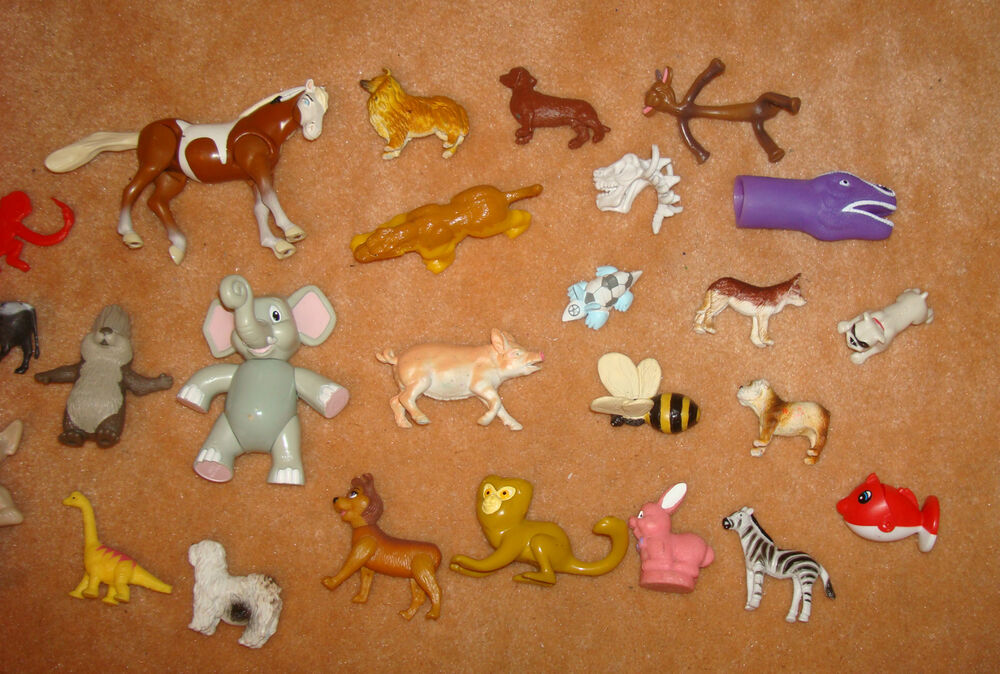 Vintage Plastic Toy Dog
