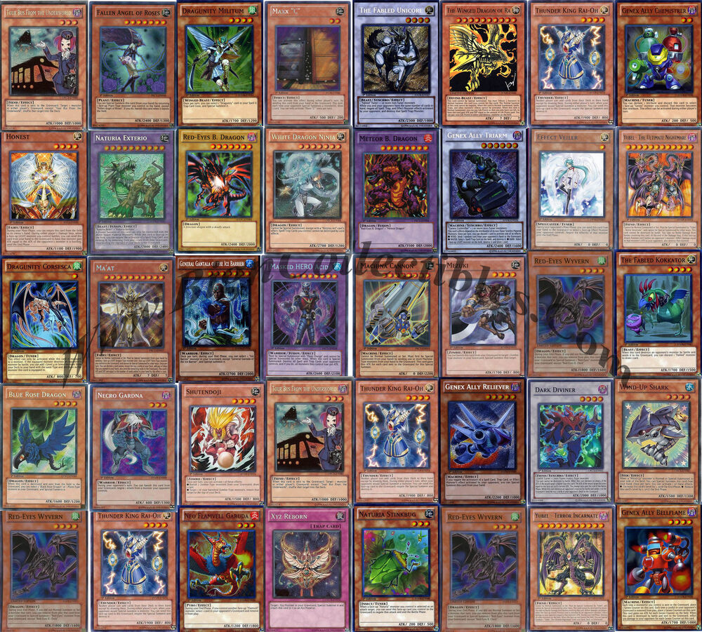 how to build a yugioh collection