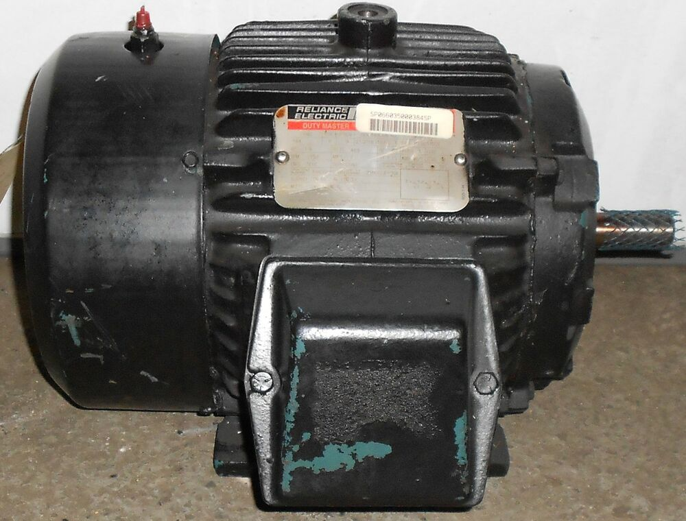 Sls1b12 reliance remanufactured electric motor 1 5 hp for Electric motor 1 5 hp