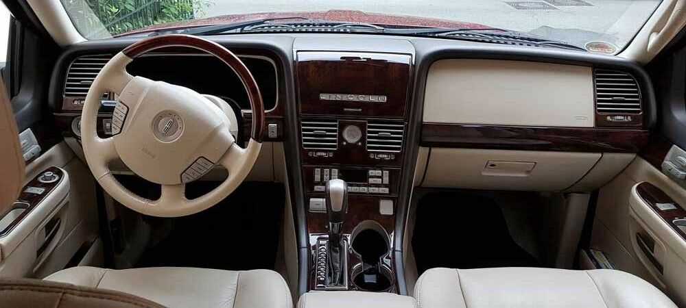 dash trim kit for lincoln aviator 03 05 2003 2004 2005 wood cover dashboard ebay. Black Bedroom Furniture Sets. Home Design Ideas