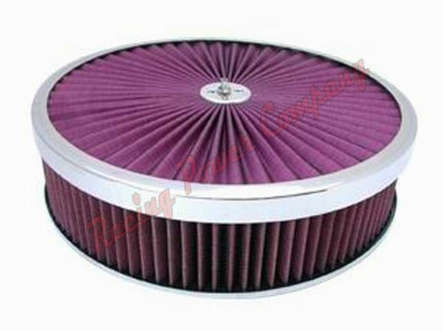 """New Ford Truck >> 14 """" inch Super Flow Filter Top Air Cleaner Chrome ..."""