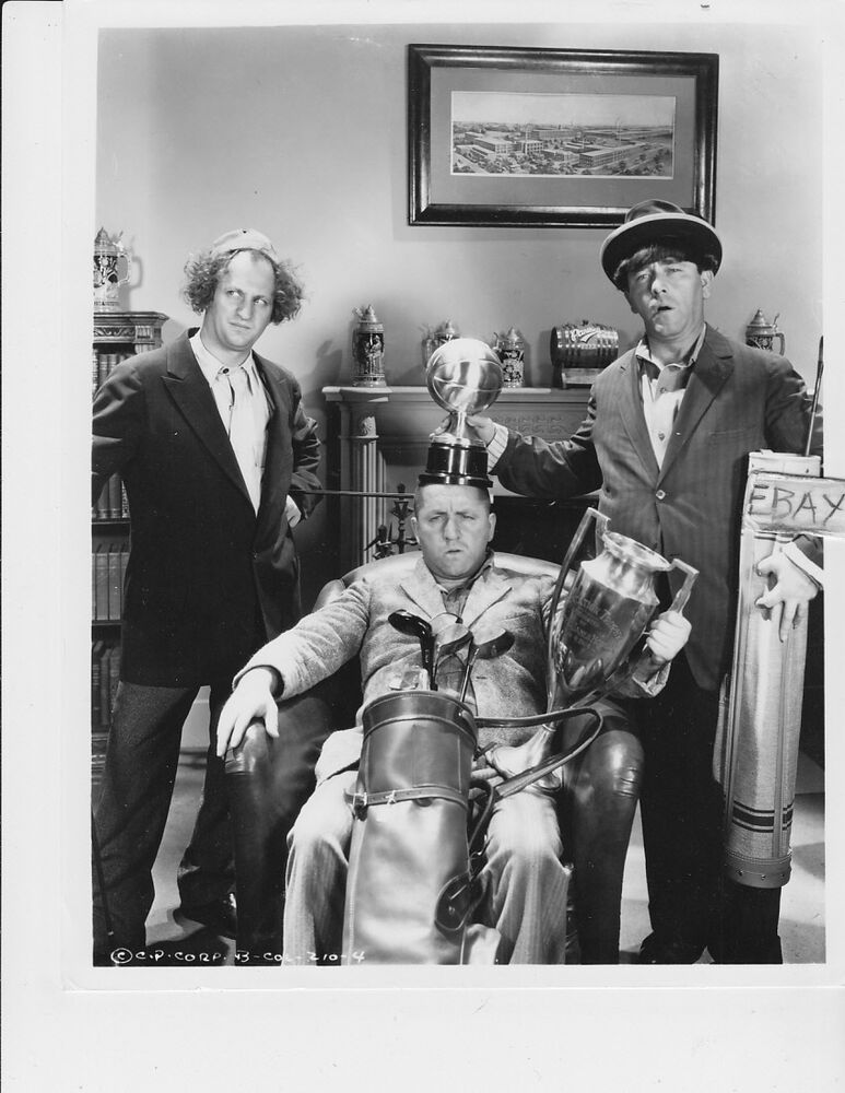 The Three Types Of Totalitarian Systems: Three Stooges RARE Photo