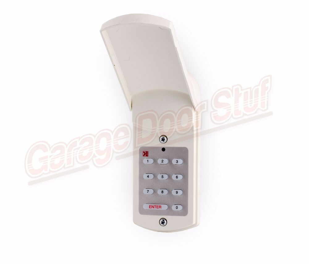 Domino Gd 1 Wired Keyless Entry Garage Door Keypad Gd1 Ebay