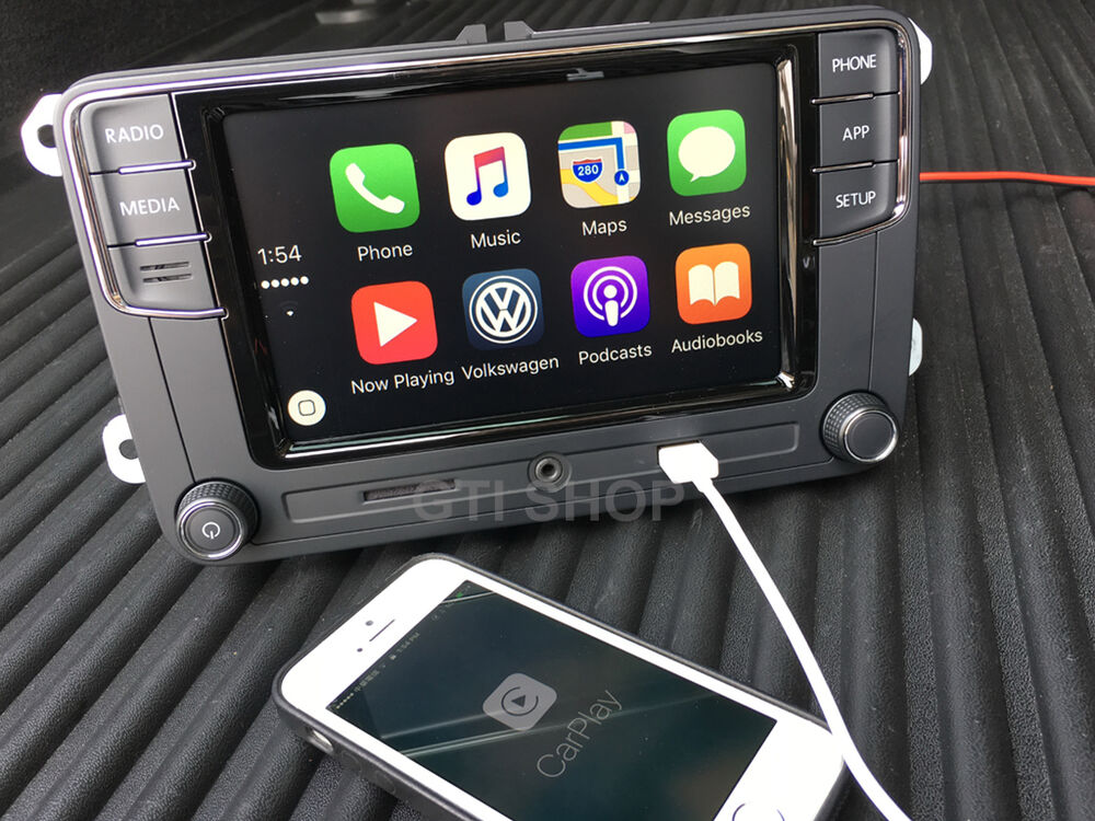 vw mib 6 5 39 39 rcd330 original carplay bluetooth golf. Black Bedroom Furniture Sets. Home Design Ideas