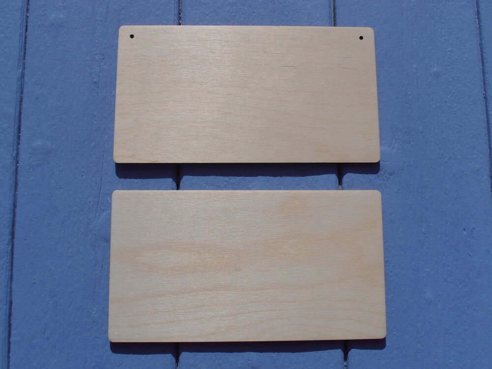 5 x plain wooden blank hanging door wall plaque sign craft for Wood plaques for crafts