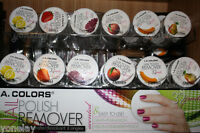 L.A. COLORS Nail Polish Remover -1 Case (32pads) *6 scents available* (choose 1)