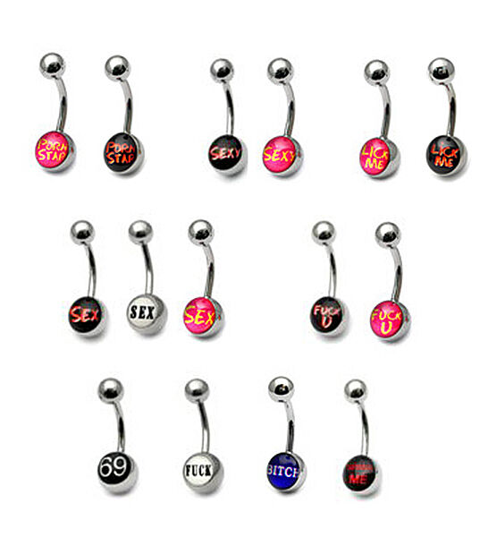 Money Sign Belly Button Ring