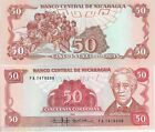 NICARAGUA 50 Cordobas Banknote World Paper Money UNC Currency Pick p-153 Bill