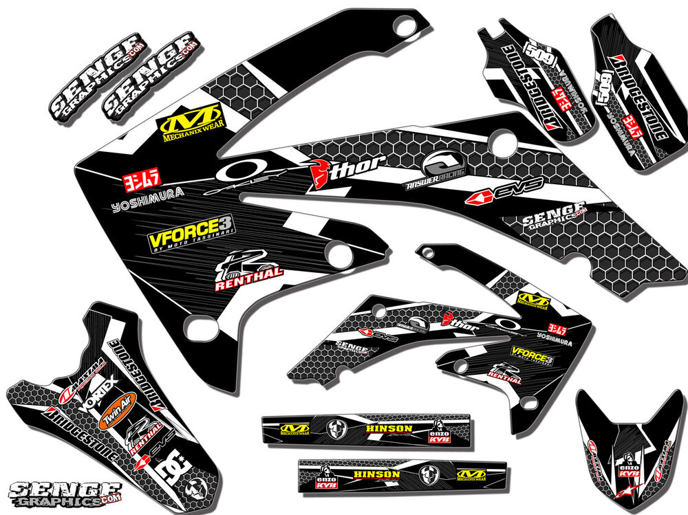 2001 2002 2003 2004 xr 80 100 graphics kit xr80 xr100 deco for Deco mural stickers