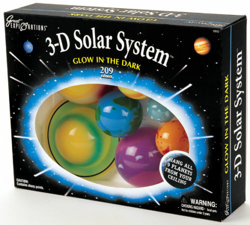 solar system of 3 d-#48