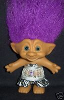 "DIVA ACE TROLL DOLL 5""  VERY HARD TO FIND - COLLECTIBLE"