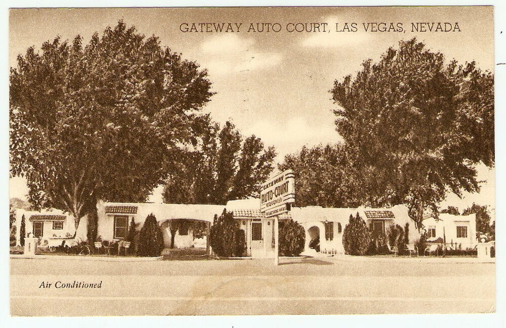 1950 las vegas nevada gateway auto court us hwy 91 photo for Ebay motors las vegas