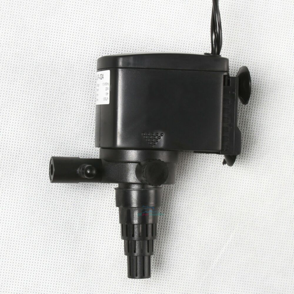 Aquarium fish tank pump - 320 Gph Powerhead Submersible Pump Aquarium Fish Tank Undergravel Filter Ebay
