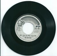 """THE DRIFTERS - CAN I TAKE YOU HOME LITTLE GIRL - 7"""" VINYL - 1975 BELL"""
