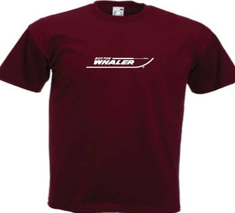 Boston whaler t shirt boat yacht fishing ebay for 13 fishing apparel