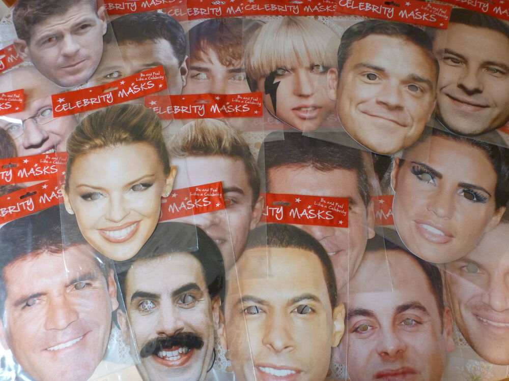 Adam Lambert Mask, Cardboard Face and Fancy ... - ebay.ca