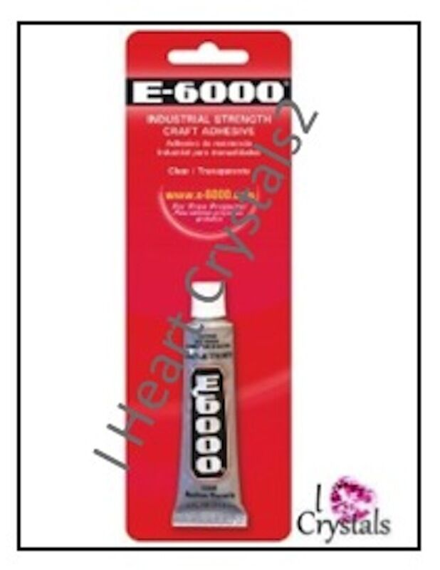 E6000 glue rhinestone crystal craft jewelry gem multi use for What kind of glue to use for jewelry