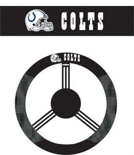 Indianapolis colts poly mesh steering wheel cover ebay