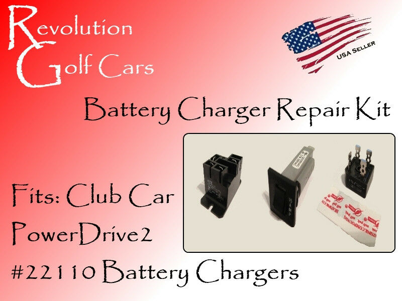 Battery Charger Repair Kit Fits Club Car 48 Volt PowerDrive2