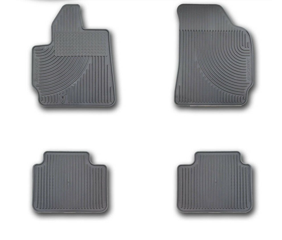 oem new 2005 2010 ford escape all weather vinyl floor mats. Black Bedroom Furniture Sets. Home Design Ideas