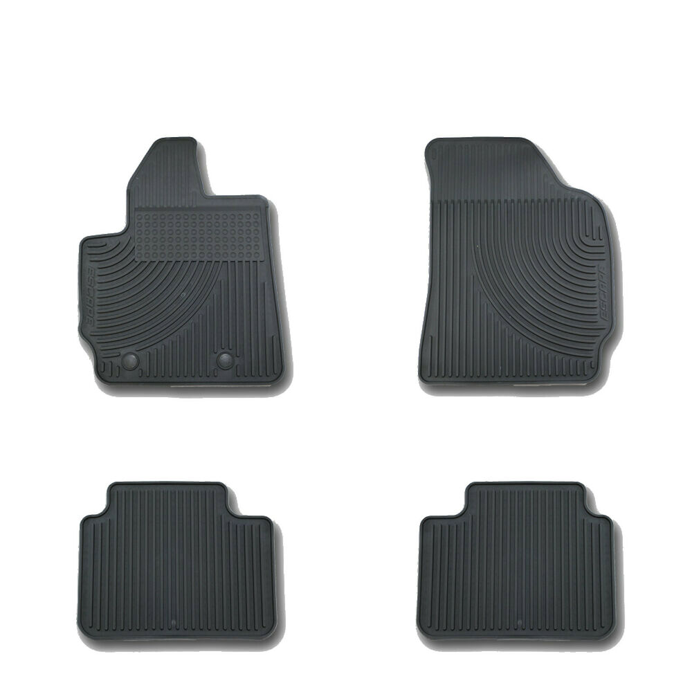 OEM NEW 2011-2012 Ford Escape All-Weather Vinyl Floor Mats