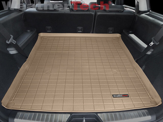 Weathertech trunk mat mercedes gl class large 2007 for Mercedes benz 2007 gl450 accessories