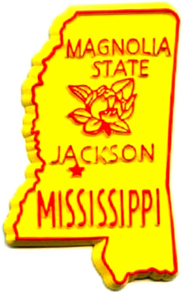 Mississippi S First Interracial Couple August 3 1970: Mississippi The Magnolia State Fridge Magnet