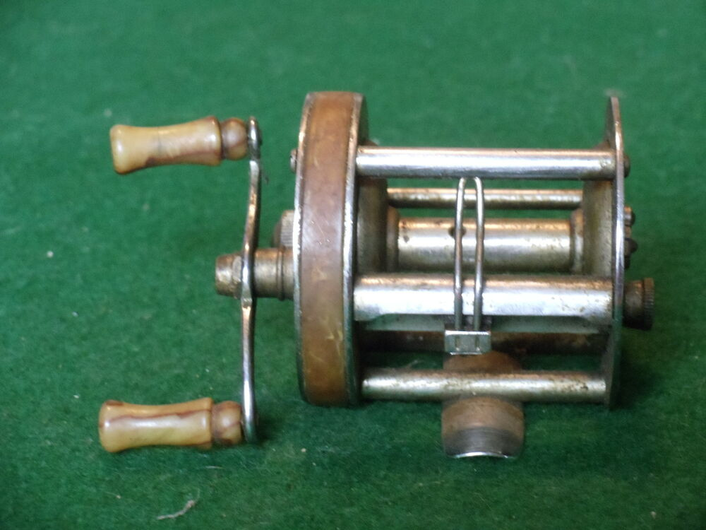 Vintage shakespeare 1958 triumph model ge fishing reel for American made fishing reels