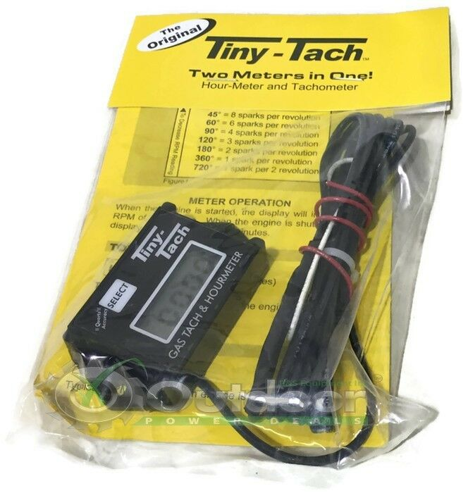 Hour Meter Made In Usa : Tt a hour meter by tiny tach reset able job timer made in