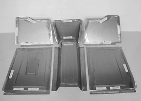 Ford Car Front Floor Pan Floorboard For Stock Firewall
