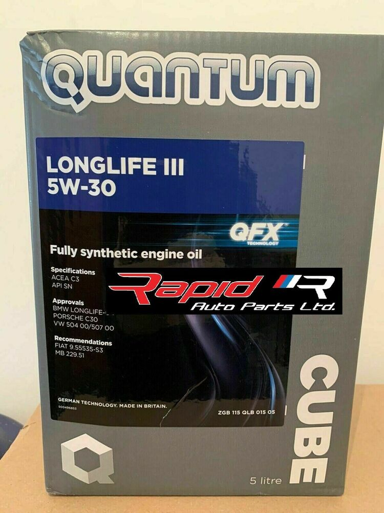 quantum longlife 3 5w 30 fully synthetic engine oil 5. Black Bedroom Furniture Sets. Home Design Ideas